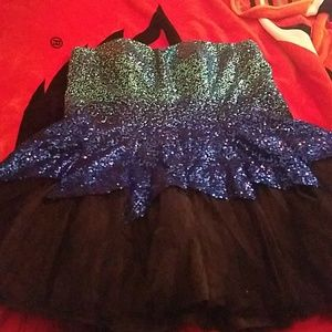Plus size Homecoming dress size 22